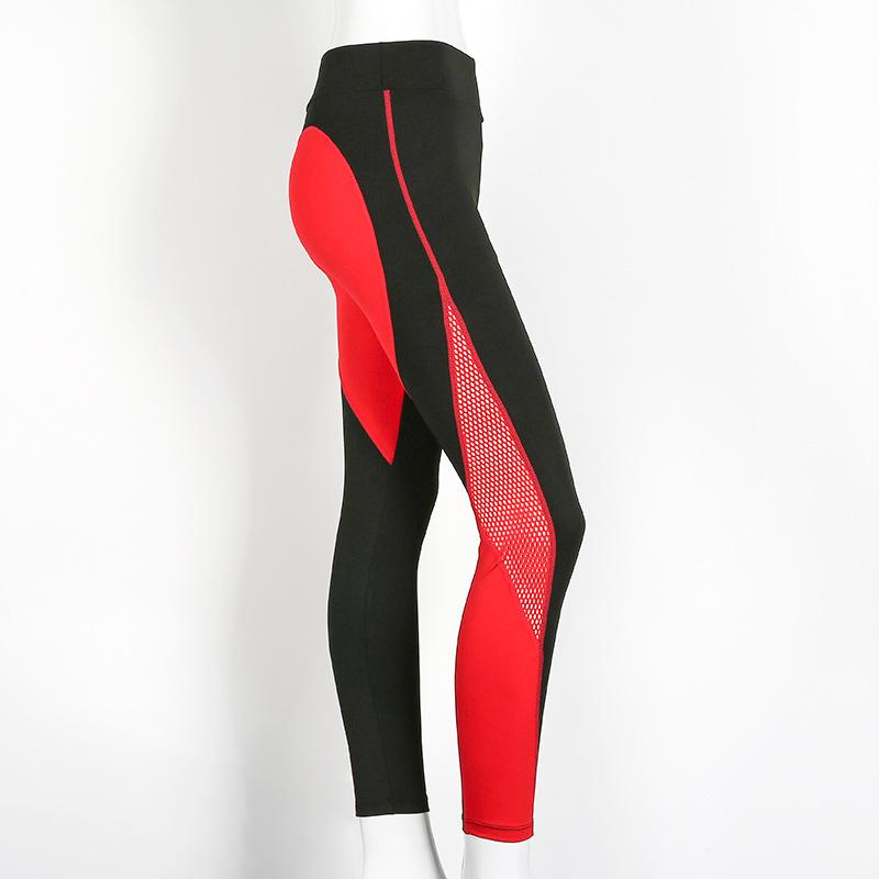 Red Love-Spot Leggings - MondayBloom.com