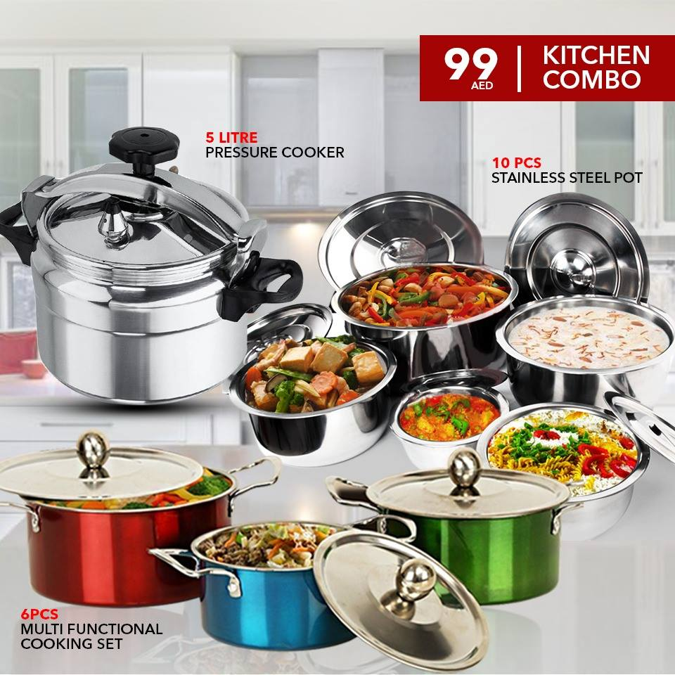 4 in 1 Kitchen Combo 26 Pcs