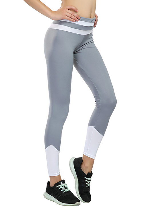 Color Block Autumn Winter Workout Pants