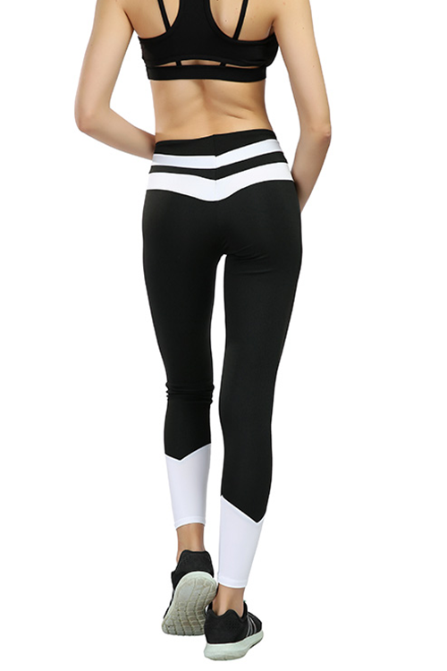 Color Block Autumn Winter Workout Pants - MondayBloom.com