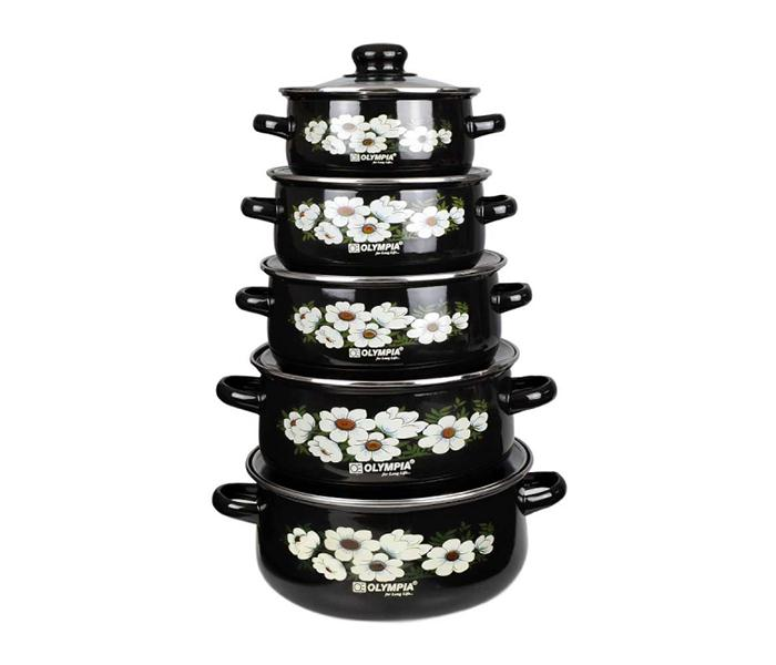 Olympia 10 Pieces Casserole Set