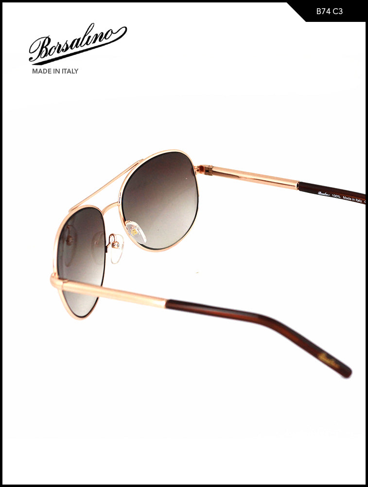 Borsalino 74 C3 Brown Aviator