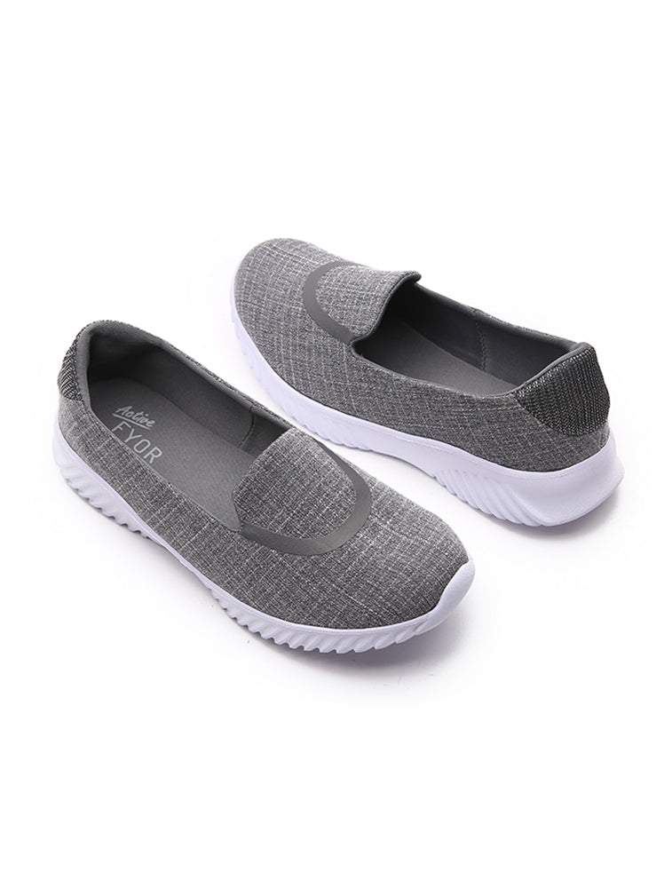 Vintage Design Casual Grey Shoes