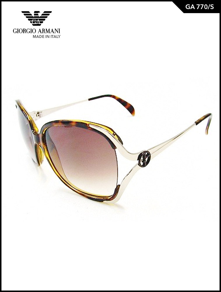 Giorgio Armani GA 775 Brown Over sized Glasses