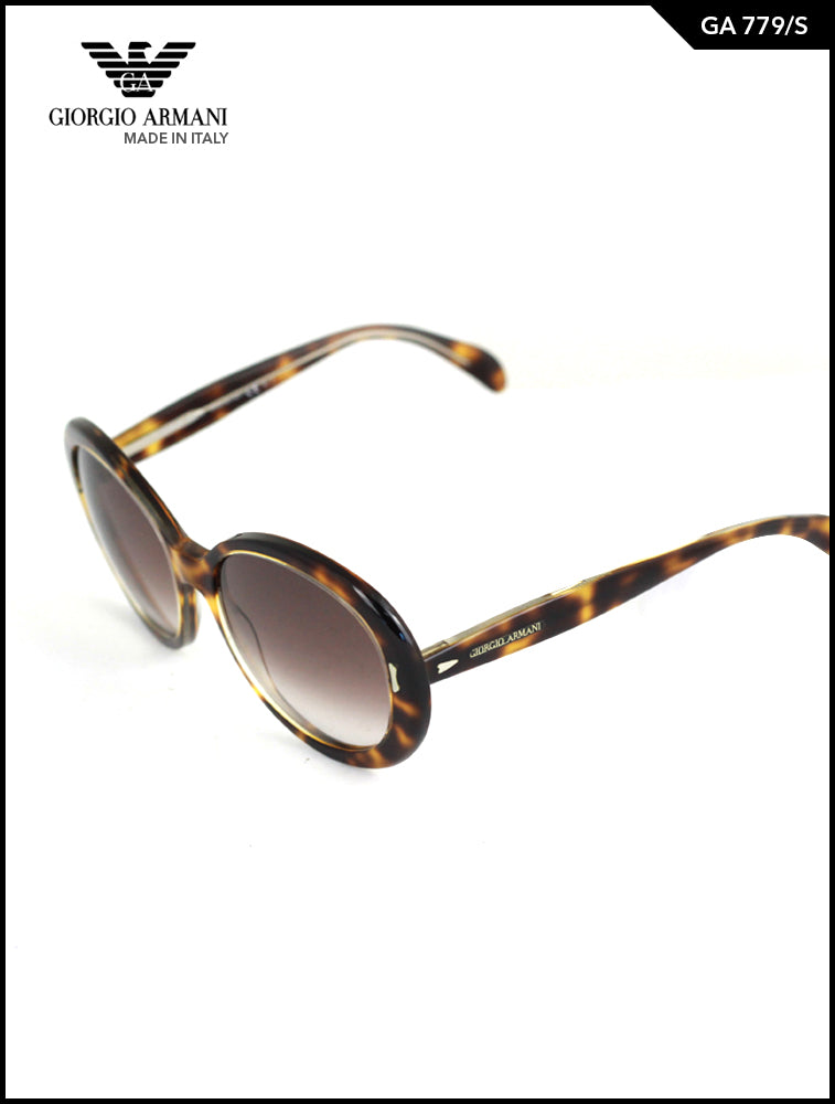 Giorgia Armani Brown Classic GA 779 Sunglasses