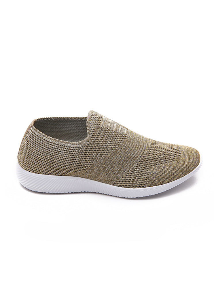 Khaki Breathable Casual Shoes
