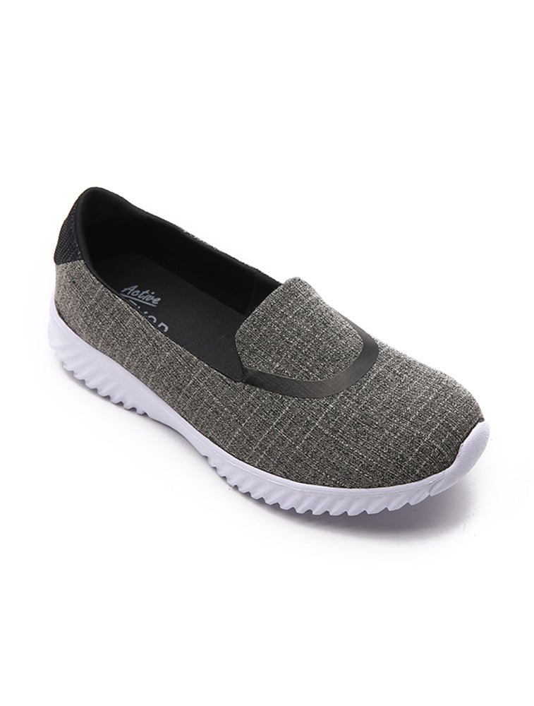 Vintage Design Casual Dark Grey Shoes
