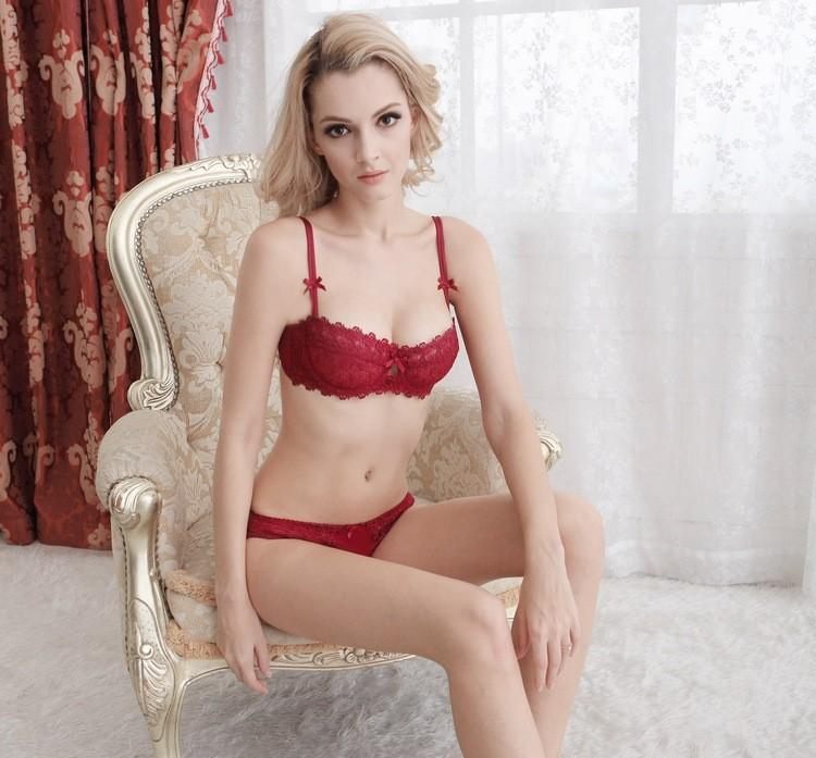 Transparent Bra and Panty Set - MondayBloom.com