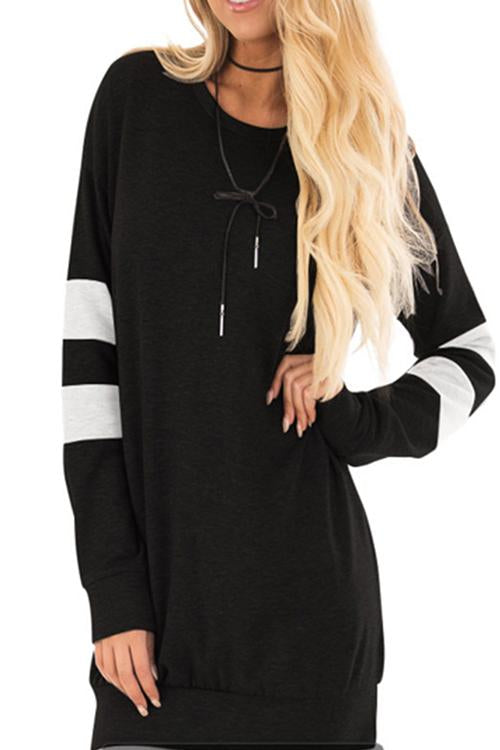 MVP Cool Stripe Post Workout Cover up - Black