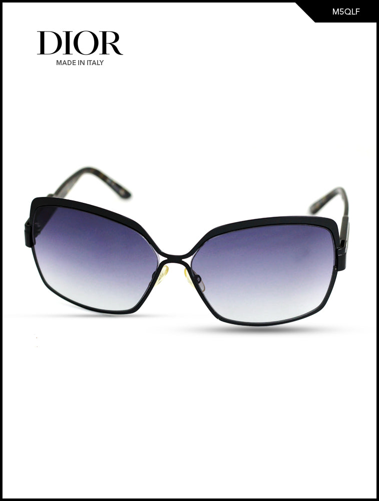 Dior Black & Blue Color Quake  Sunglasses