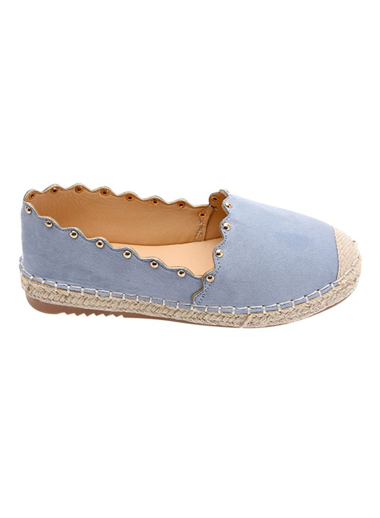 Light Blue Summer Slip On