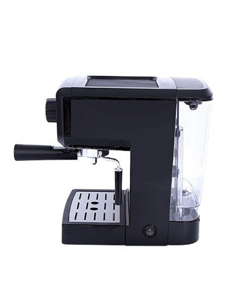 Geepas Cappuccino Coffee Maker 1.25L GCM6108 Black