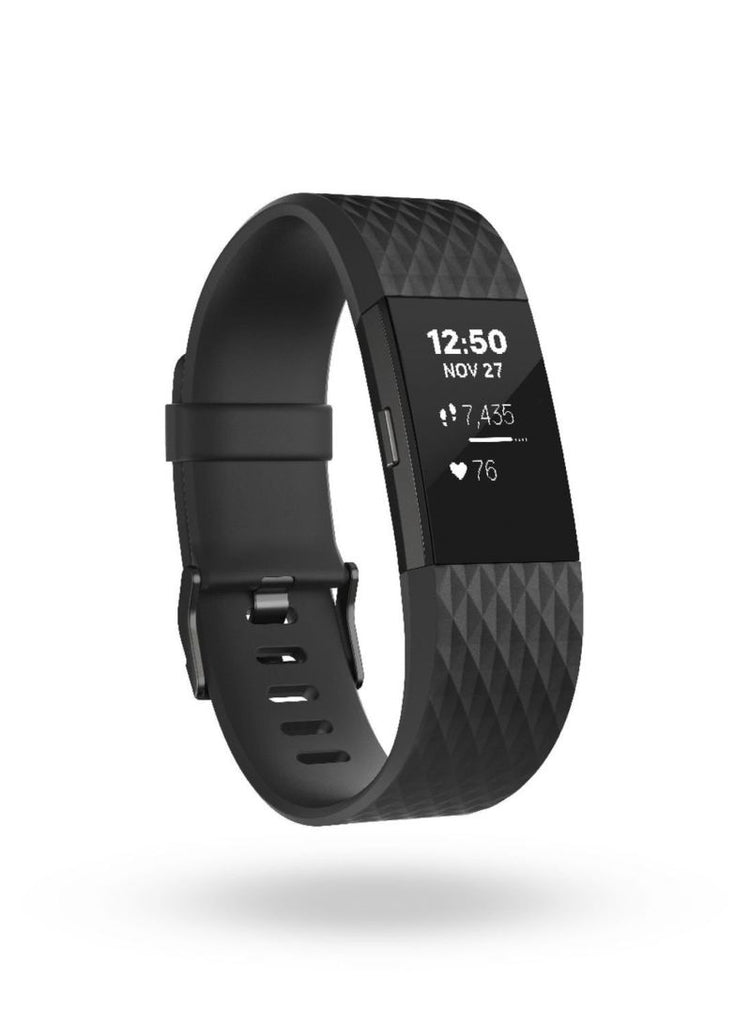 Fitbit Charge 2 HR Fitness Tracker - Gunmetal