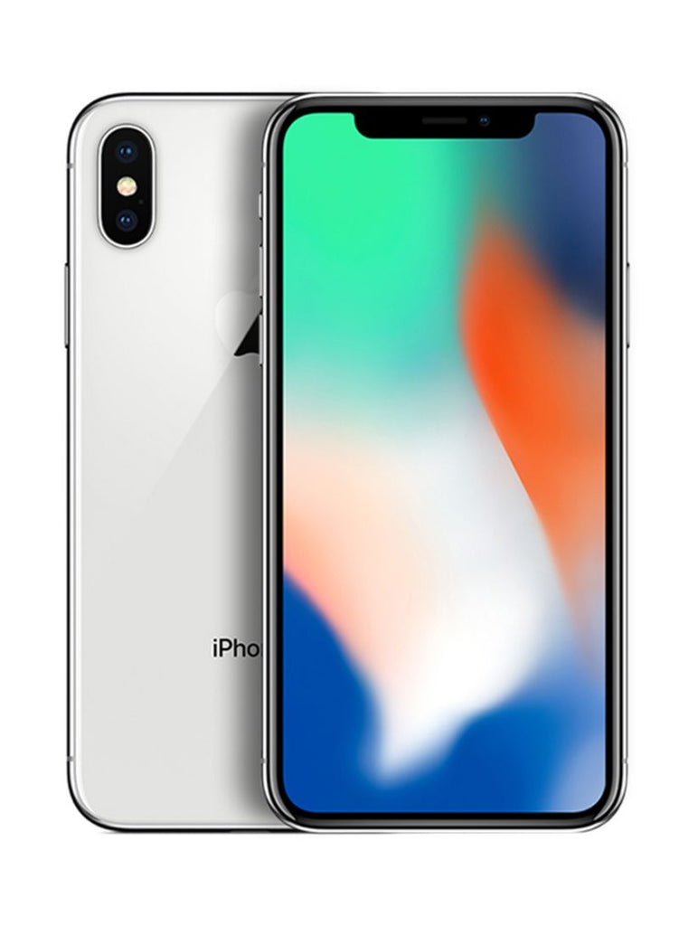 Apple iPhone X With FaceTime Silver 256GB