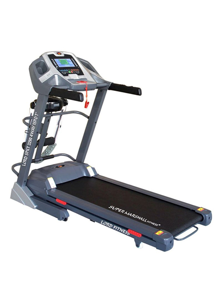 Six Level Shock Absorption Treadmill