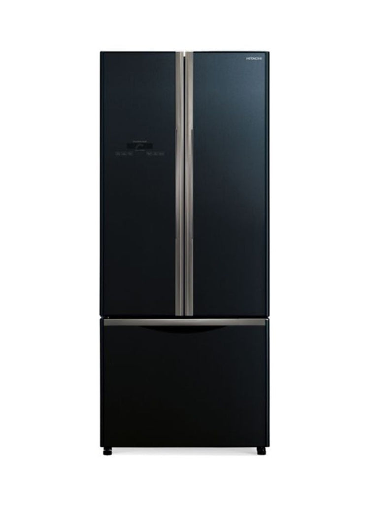 Hitachi Bottom Freezer Refrigerator 455L R-WB550PS2 GBK Black