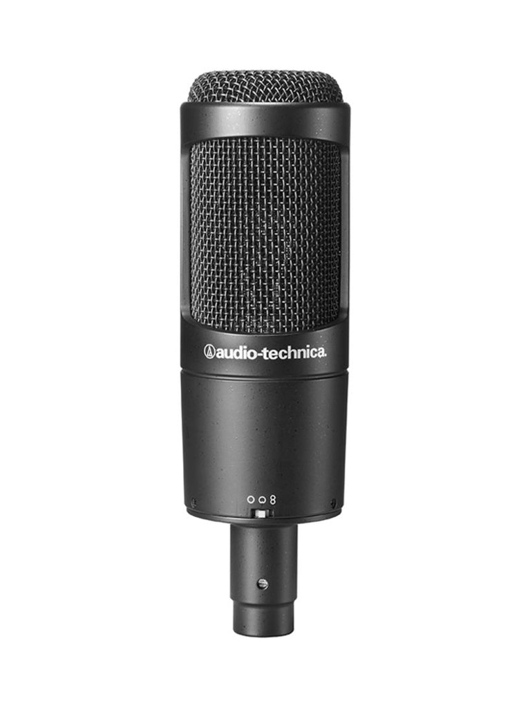 Multi-Pattern Condenser Microphone AT2050 Black.