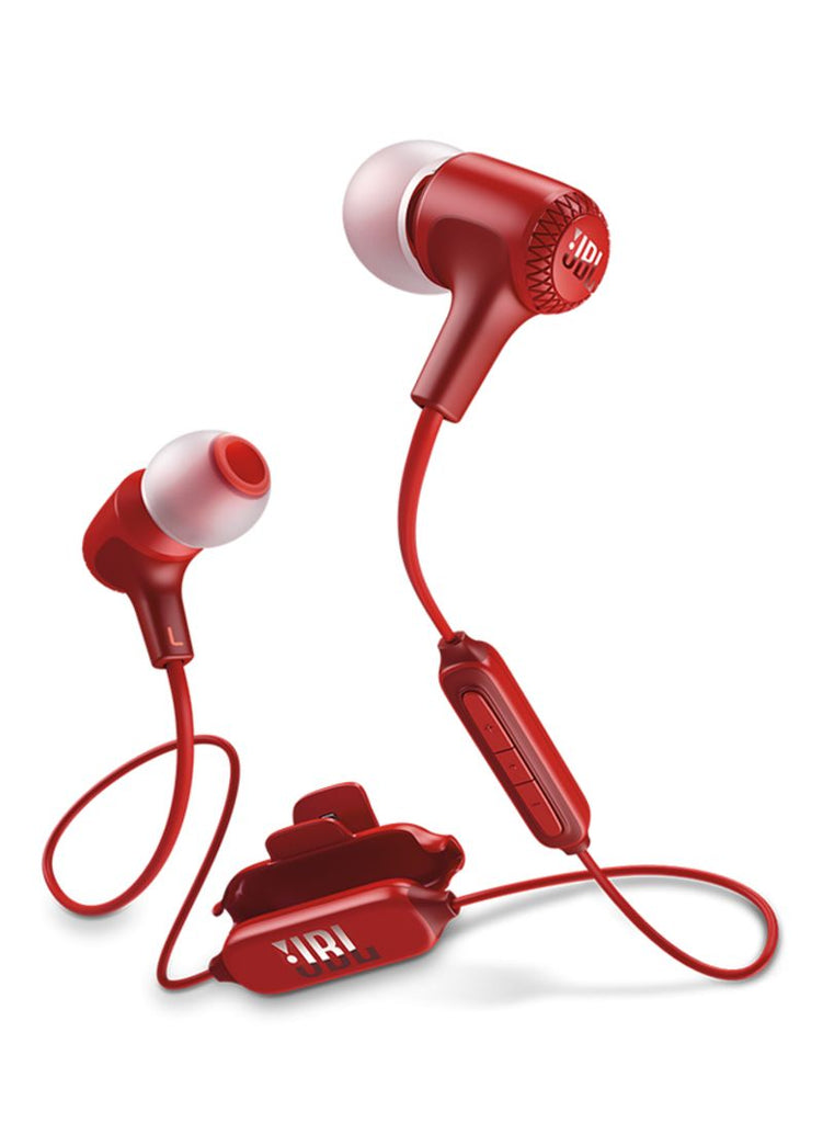 JBL In-Ear Bluetooth Headphones With Mic Red