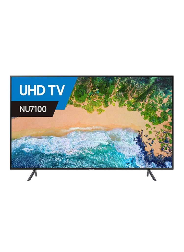 55-Inch Smart 4K Ultra UHD TV UA55NU7100 Black