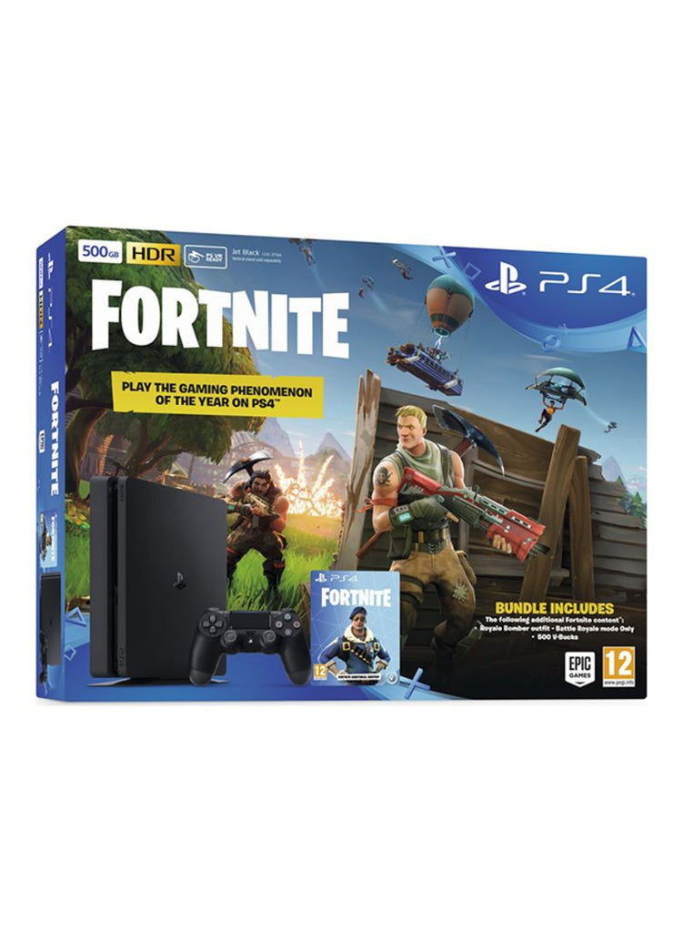 PlayStation 4 Slim 500 GB Console With Fortnite Battle Royale