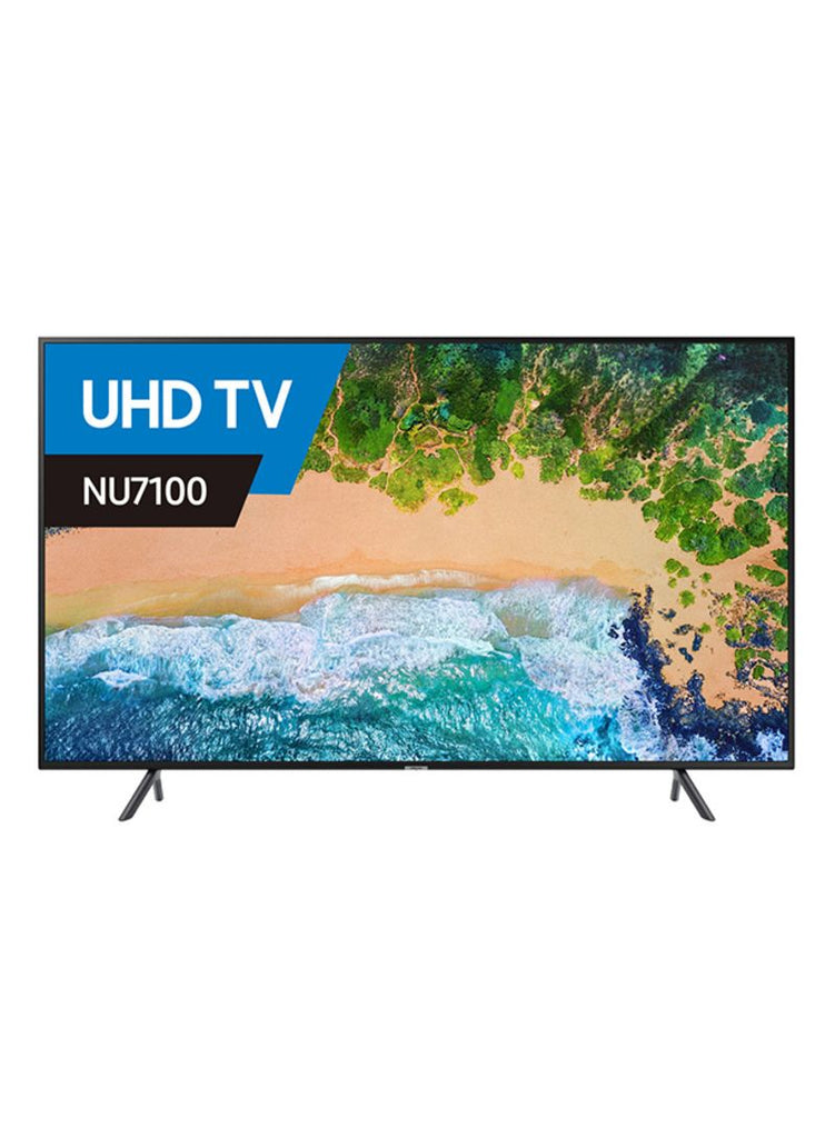 65-Inch Smart Flat LED 4K UHD TV UA65NU7100 Black