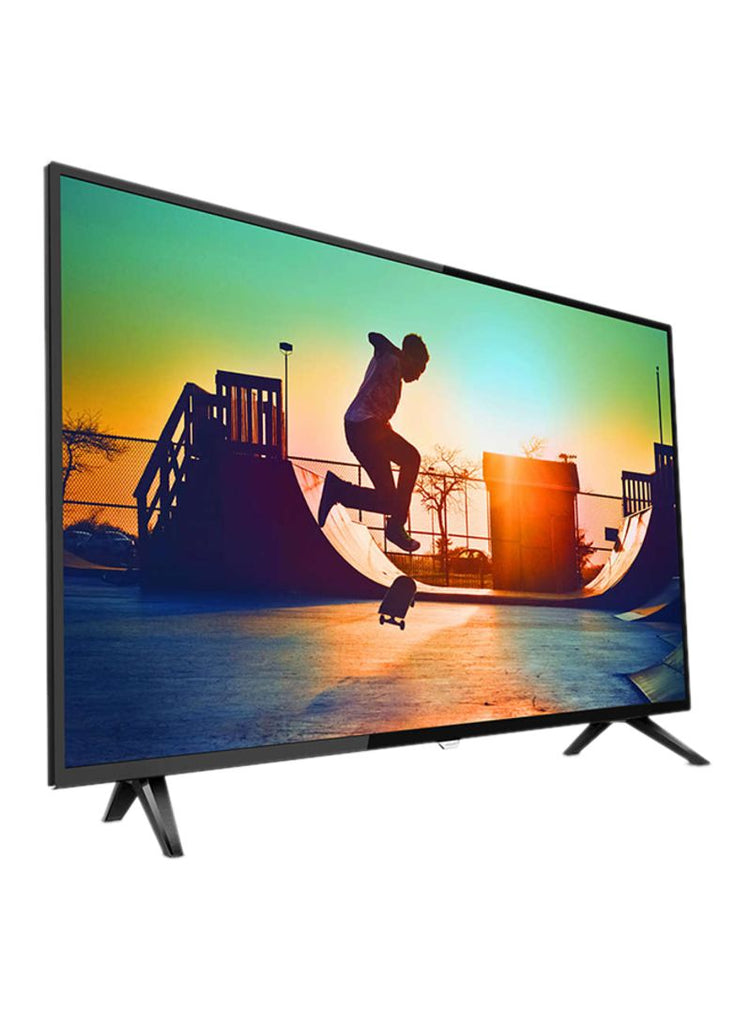 Philips 55-Inch 4K Ultra Slim Smart LED TV 55PUT6103/56 Black