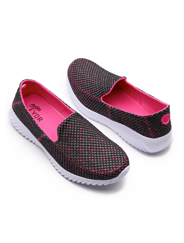 Casual Breathable Pink Shoes