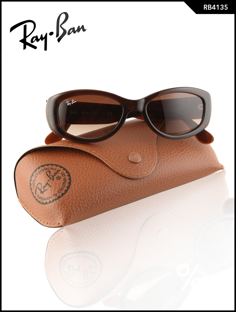 Ray-Ban Polarized Brown Square Sunglasses