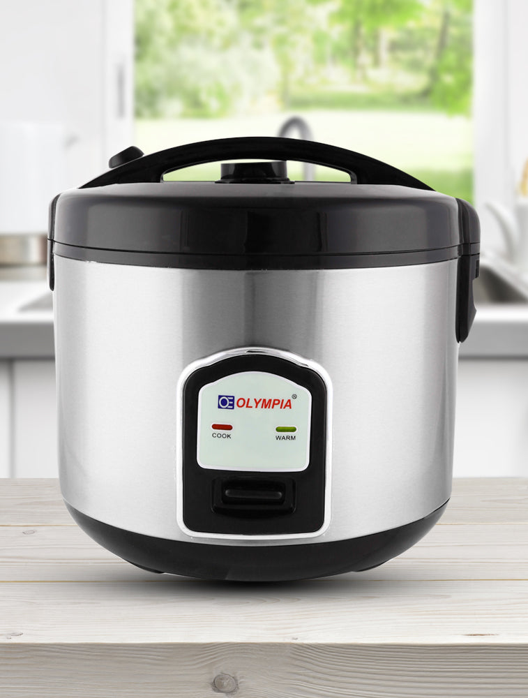 Mixed Rice Cooker 2L 400 Silver/Black