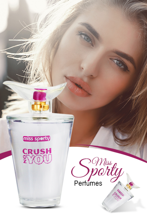 Miss Sporty  Crush On You Perfume For Female EDT 100ml