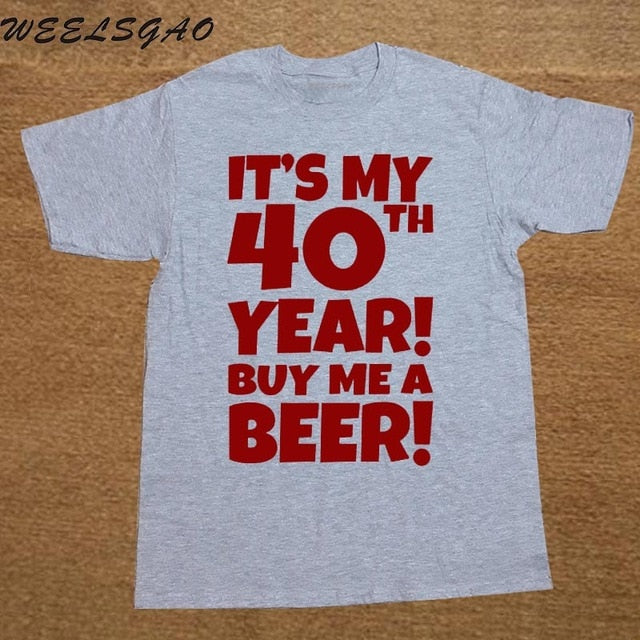 Load Image Into Gallery Viewer Funny 40th Birthday Present Beer Joke Gift Dad Men