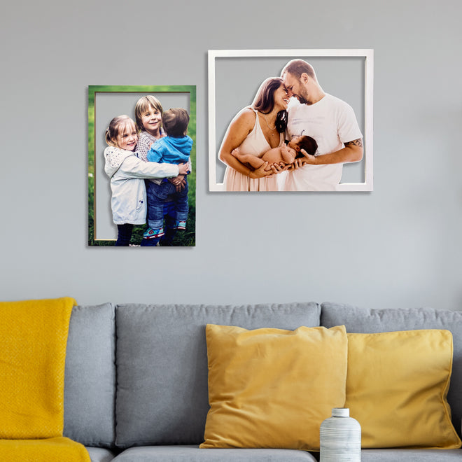 Cut-Out Photo Frame
