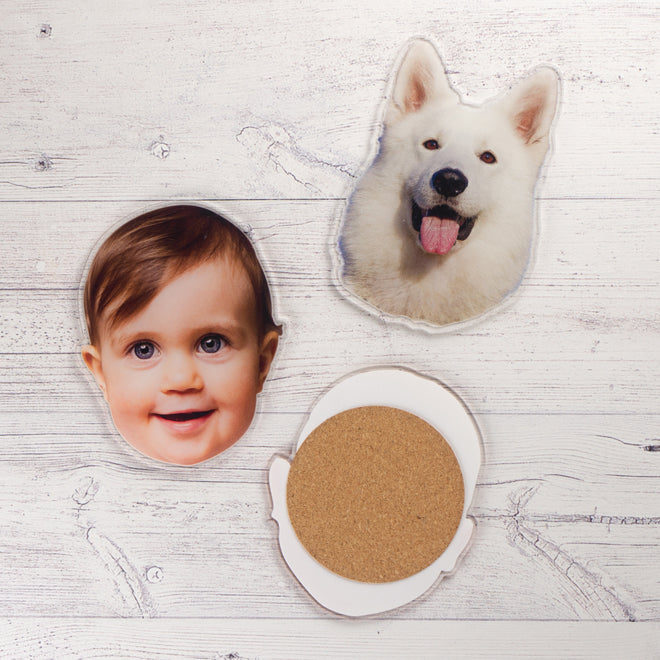 Photo Coaster - Set of 2 - Contouree