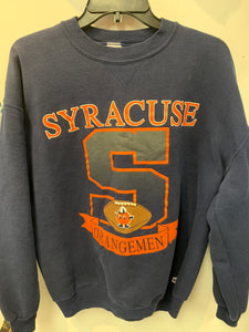 Vintage Russell Athletic Syracuse Orangemen Football Sweatshirt L/XL. SS22
