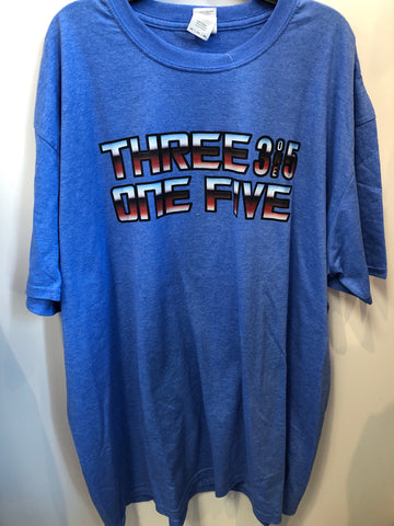315 Brand T-Shirt with Transformers font