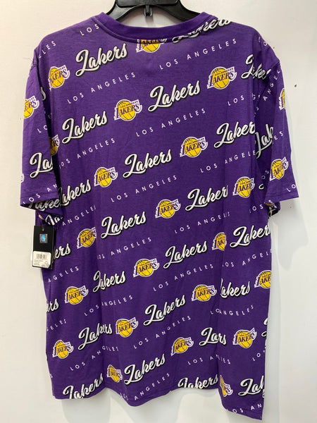 NWT All Over Print Los Angeles Lakers T Shirt