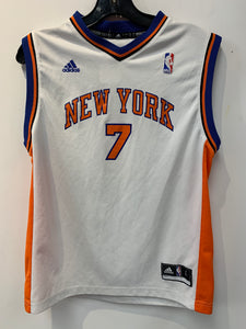 New York Knicks #7 Carmelo Anthony Jersey, size Youth L.