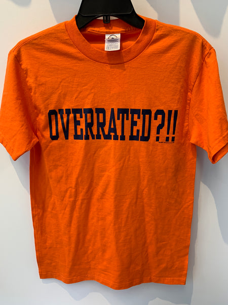 Overrated? Syracuse #3 T Shirt Small TS1