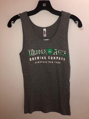 Women's Charcoal Gray Middle Ages Brewing Tank Top