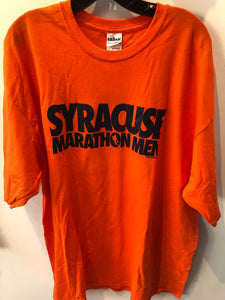Syracuse University Marathon Men T Shirt 6OT Uconn