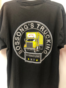Vintage Screen Stars Bossong's Trucking Syracuse, NY XL Made in USA