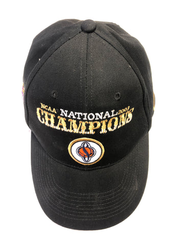 2003 NCAA Champions Nike Hat. The same worn as the. Team after they won. Adjustable strap