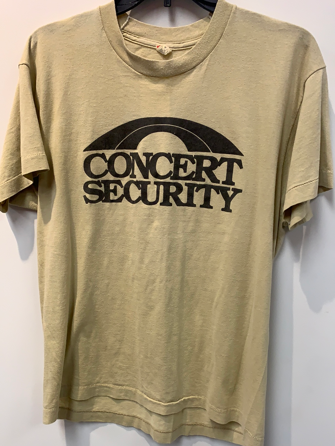 Extremely Rare Vintage Bruce Springsteen Concert Security T-shirt TS129