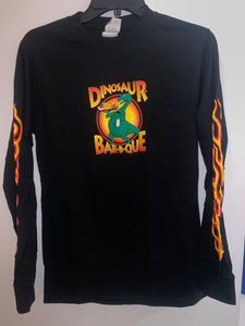 Long Sleeve Dinosaur BBQ Shirt