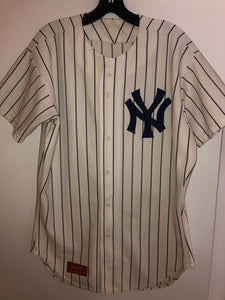 Mariano Rivera Yankees Baseball jersey #37, size 44. Made in USA!