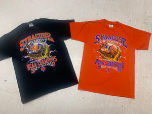 "2003 Syracuse University NCAA Champions ""Ring"" T Shirt"