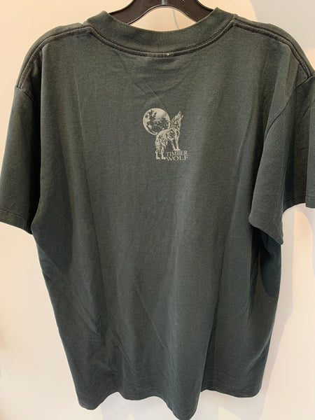Vintage Wolf T-Shirt from Old Forge, NY. Size XL. MADE IN USA.
