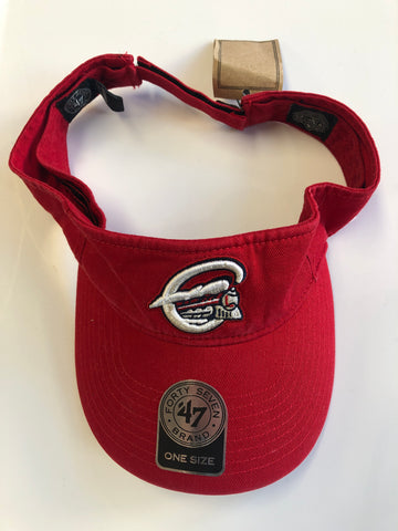 New with Tags Syracuse Skychiefs Visor with Adjustable Velcro Strap