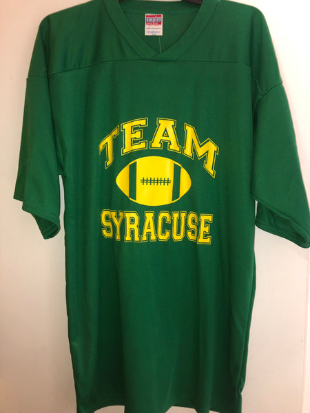 Team Syracuse football jersey, size XL. Made in USA!