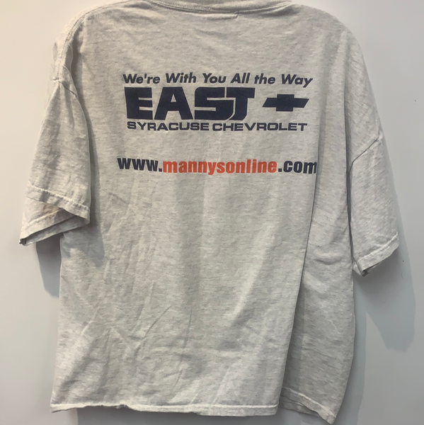 "Syracuse Basketball ""Experience the Legacy"" T Shirt Med TS140"